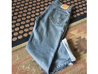 550 relaxed fit blue Levi's