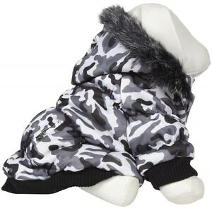 XL Winter Dog Coat, Thinsulate, hoodie, and velcro closure - NEW