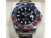 rolex gmt Pepsi rolex wave box papers and cards inclued