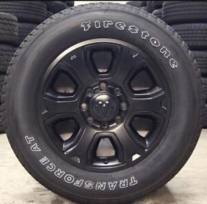 NEW TAKE OFF WHEELS AND TIRES O FF  DODGE 2500/3500   8 BOLT W/ 285/60R20   TRANSFORCE AT  TIRES $1450  SET OBO