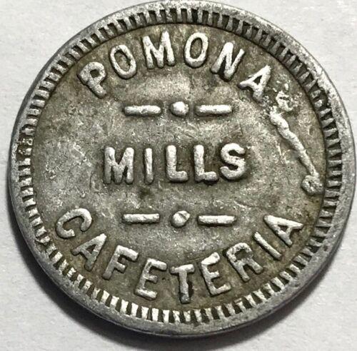 CANADA - Markham, Ontario - Vintage Pomona Mills Cafeteria - Good For 5c Token