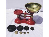 Victor Vintage Kitchen Weighing Scales