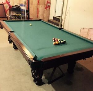 Slate pool table dufferin