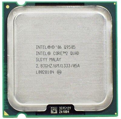 Intel Core 2 Quad Q9505 2.83GHz/6M/1333 Quad-Core LGA775 CPU (Better than