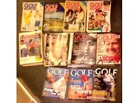 Golf Monthly Magazines (1983 to 2002 backlog) (for charity)