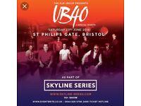 UB40 tickets skyline series x2