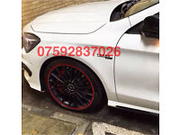 "Alloy wheel guards Alloy wheel protection Universal Fit 18"" 19"" 20"" 17"""