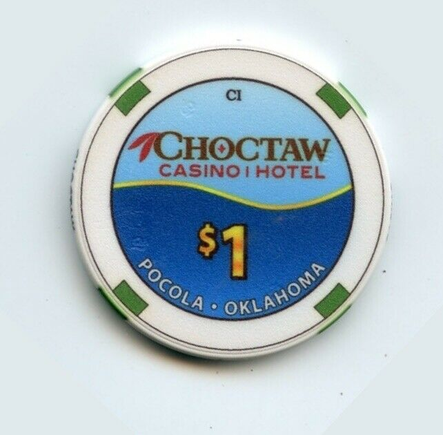 1.00 Chip from the Choctaw Casino in Pocola Oklahoma CI
