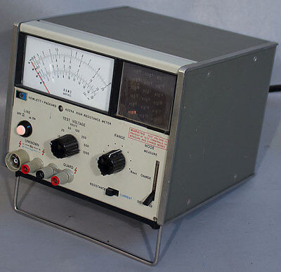 Hpagilentkeysight 4329a High-resistance Meter
