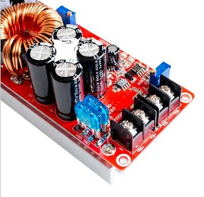1200w 20a Dc Converter Boost Car Step-up Power Supply Module 8-60v To 12-83v L