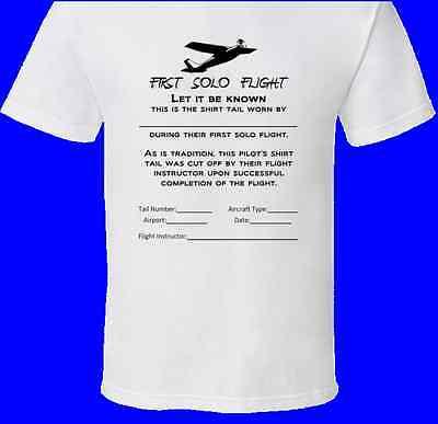 Pilot First Solo Flight T-Shirt | Great As A (First Flight T-shirt)