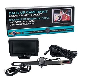 "CAR VIDEO: Backup Reverse View Camera Kit , 4.3""LCD *BRAND NEW!"