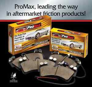 Promax Rear Ceramic Brake Pads Chrysler/Mitsubishi