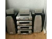 Technics Dv290 Dvd Surround Sound system bargain £100