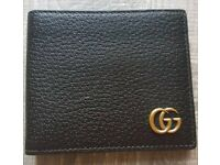 GUCCI GG Mamont Half Wallet Model 435303 DJ20T 1000 Authentic Material