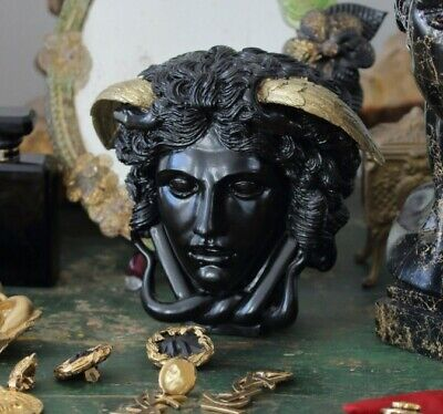 Resin, plaster, candle, soap mold medusa head mold