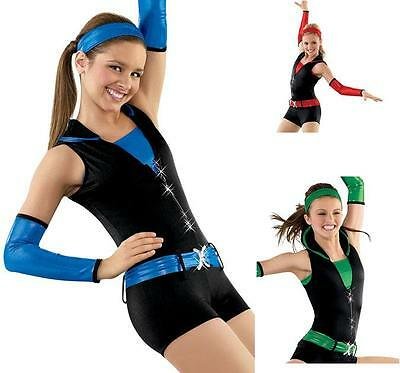NEW 'Boom, Boom, Pow' Jazz, Hip Hop, Funk Dance Competition Costume Adult M