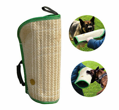 Jute Dog Bite Sleeve Arm Protect K9 Young Dogs Training Toys for Schutzhund US