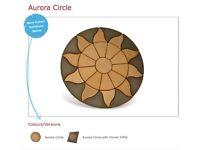 Aurora Sun Paving Circle 1.8m Garden Feature Only £164.99 Call 0161 962 9127