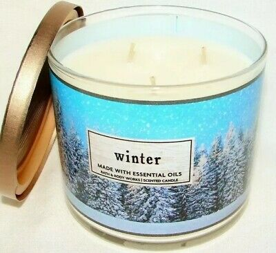 Bath & Body Works WINTER 3 Wick Scented Candle 14.5 oz large best (Best 3 Wick Candles)