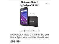 Motorola Moto G xt1541 3rd gen