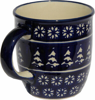 GU1105//963 from Zaklady Boleslawiec Polish Pottery Coffee Mug 12 Oz