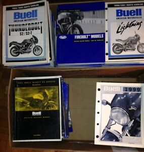 OEM Buell Manuals All Models