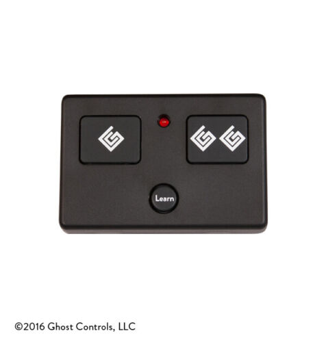 NEW!! GHOST CONTROLS AXS1 3 BUTTON TRANSMITTER REMOTE CONTROL FOR GATE OPENERS
