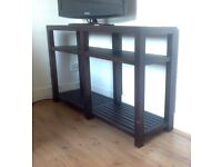 Marks & Spencer hard wood console table delivery possible