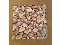 Ceramic stepping stone tiles