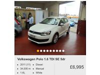 WHITE VW POLO WANTED