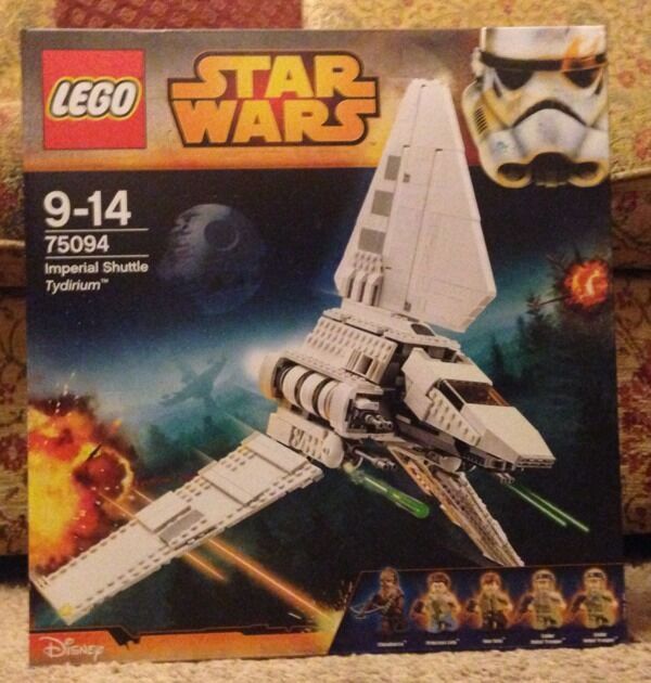 Lego Star Wars Imperial Shuttle Tydirium New