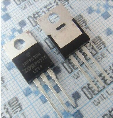 5pcs Irf9530n 9530 P-channel Power Mosfet 100v14a 0.2 Ohms