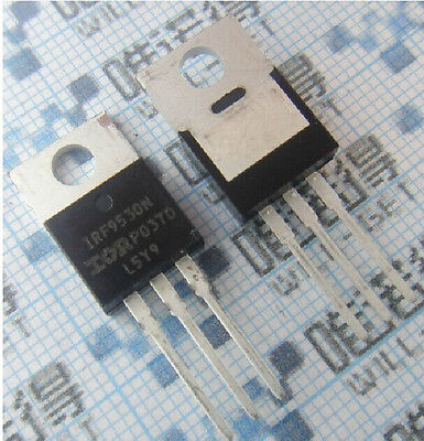 2pcs Irf9530n 9530 P-channel Power Mosfet 100v14a 0.2 Ohms