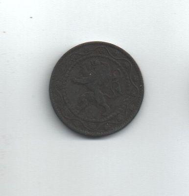 Belgie-Belgique Munt Albert I 25c 1916 Frans-Vlaams