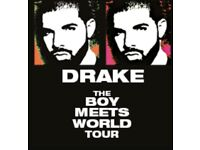 1 DRAKE TICKET SEATED IN LEEDS £200