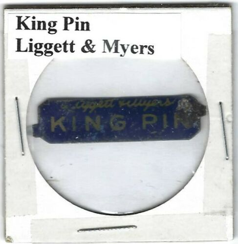 King Pin Chewing Tobacco Tag Liggett & Myers K241