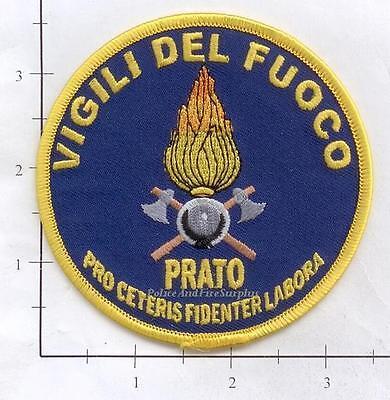 Italy - Vigili Del Fuoco Fire Dept Patch - Prato