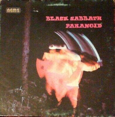 """Black Sabbath """"Paranoid"""" LP 1978 Nems (NEL 6003) Holland Import Black Label"""