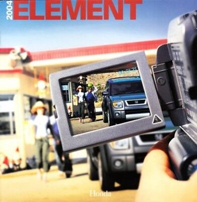 2004 04 Honda Element original sales brochure MINT