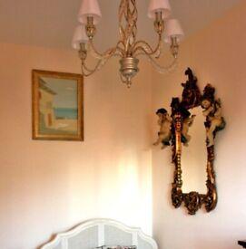 crystal light chandelier