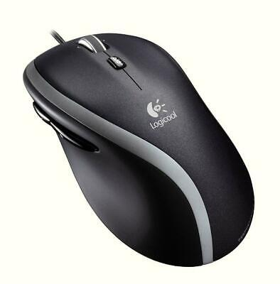 New Logicool by Logitech M500 M500t Corded USB Mouse with 1000 DPI M500t