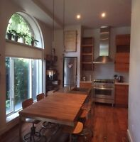 Bright, 3 story riverdale home to share
