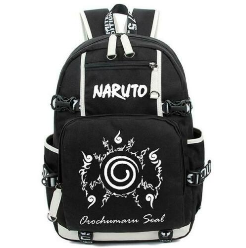 Large Capacity Luminous Anime Naruto Pattern Backpack School Bag Cosplay
