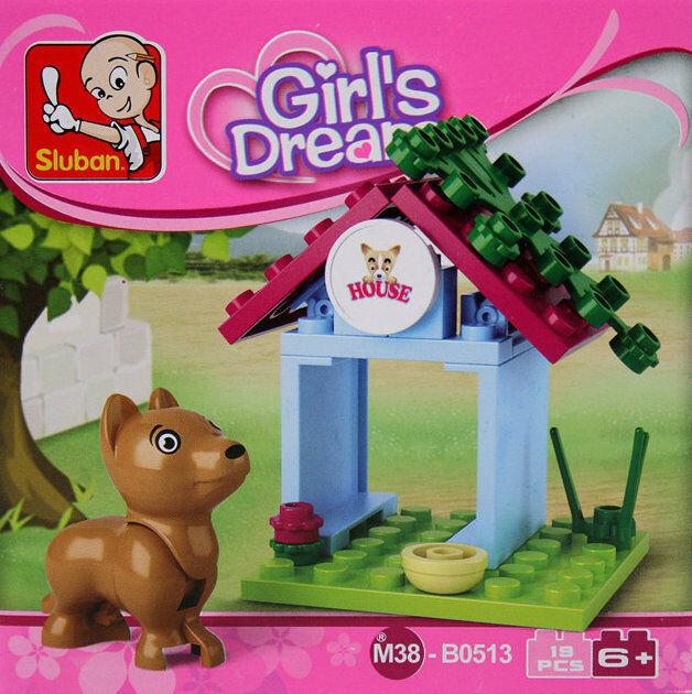 Sluban M38-B0513 girls dream hundehütte