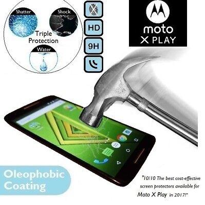 100%Genuino Cristal Templado Protector para Pantalla XT1562 Motorola Moto X Play