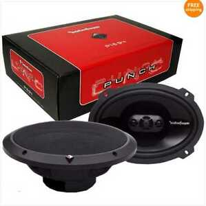 ROCKFORD-FOSGATE-P1694-PUNCH-6-X9-4-WAY-CAR-SPEAKER-PAIR-NEW