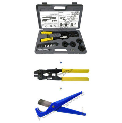 Pex Crimp Tool Kit For All Sizes Decrimper Cutter