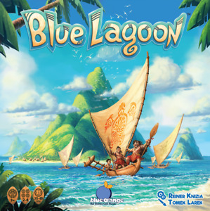 Brand New Sealed Blue Lagoon Board Game by Blue Orange Games
