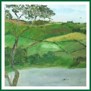 Sylvia-Levine-Welsh-Landscape-Countryside-Modernist-Oil-painting-Free-UK-Post